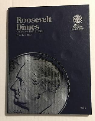 Roosevelt Dime (1946-1964) #9029 Coin Folder By Whitman - New Old Stock