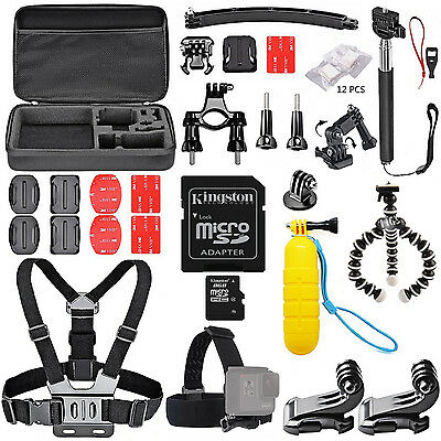 Accessories Kit for Go Pro GoPro Hero 6 5 4 3+ Action Camera Bundle SJCAM Xiaomi