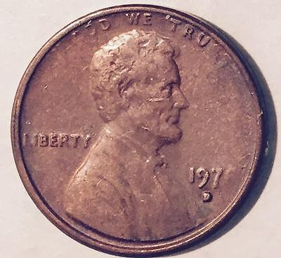1978-D  Weak Strike  Lincoln Cent  (Major Error)  Nice Coin  #217