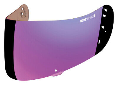 ICON Optics Shield/Visor for Airmada Helmets (Fog Free RST Mirror Purple)