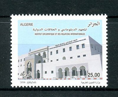 Algeria 2016 MNH Institute Diplomacy & Intl Relations 1v Set Architecture Stamps