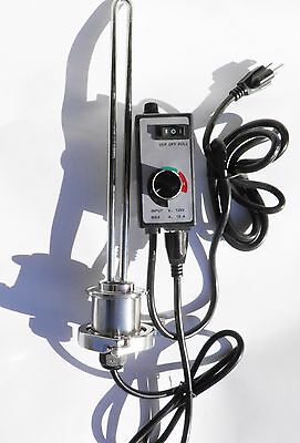 1500 watt Electric Heating System Element, Controller for Still, Mash Tun, HLT,