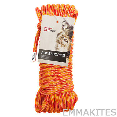 11.5mm Double Braided Polyester Climbing Rigging Rope Line 30kN 9 / 15 / 30M Cut
