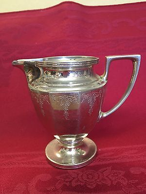 Small Vintage Silverplate Pitcher