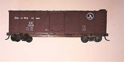 Used Ho Scale Great Northern Brown box car with Road number gn 23496