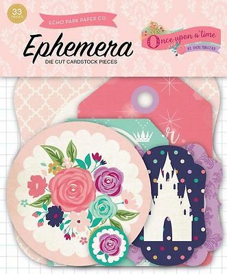 "Echo Park ""once Upon A Time"" Princess Ephemera Die Cuts Scrapjack's Place"