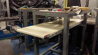 """QC Conveyor 18"""" wd x 48"""" lg with 1/19 HP Motor & Reducer"""