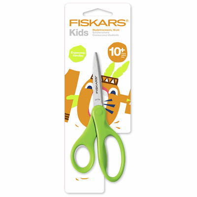 18 cm Students Scissors 18 cm By Fiskars, With Long Blade and Pointed Tip