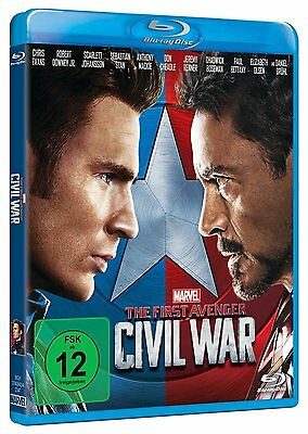 Captain America: 3 - The First Avenger: Civil War [Blu-ray/NEU/OVP] Chris Evans