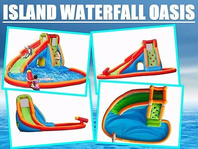 HAPPY HOP Island Waterfall Oasis  LARGER MODEL (pick up available Sydney metro)