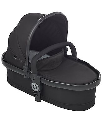 iCandy Peach 3 Twin Carrycot Only - Jet Black New + FREE HENRIK VIBSKOV BLANKET