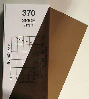 GAM  #370 Spice  gel color media filter sheet