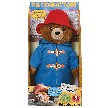 Paddington Bear Movie Talking Toy Boxed