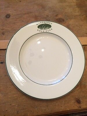 NANTUCKET GOLF CLUB Syracuse China Topmark Dinner Plate Mass. 10 3/4""