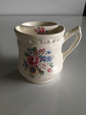 Athena Vb Vintage Bathroom Toothbrush  Holder White Floral  Usa Victorian  Cup