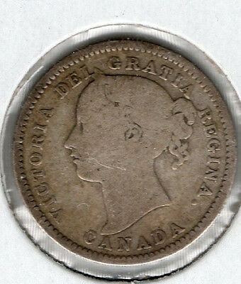 Nice 1901 Canada 10 Cent Great Collector Coin Buy it Now