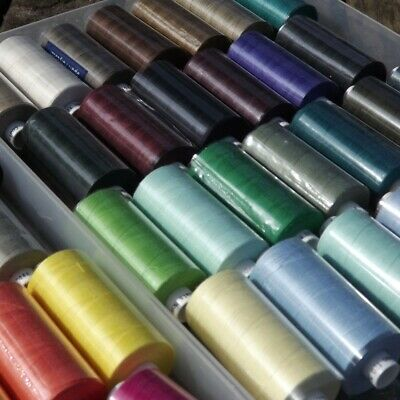 CLEARANCE Mix Colour 1000y Coats Moon Thread BUY 2 4 8 Reels Polyester Sewing
