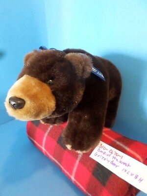 Bank of the West Grizzly Bear plush(310-2670-1)
