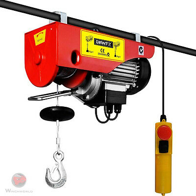 125/250KG 510 W Electric Hoist Winch 694299844