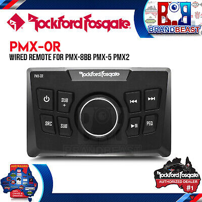 Rockford Fosgate Pmx-0r Wired Remote for PMX-8BB, PMX-5 or PMX2
