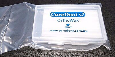 CareDent, OrthoWax, Orthodontic Wax for Braces