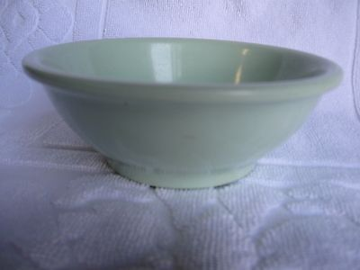 Vintage Green Boonton Bowl, Made in the USA