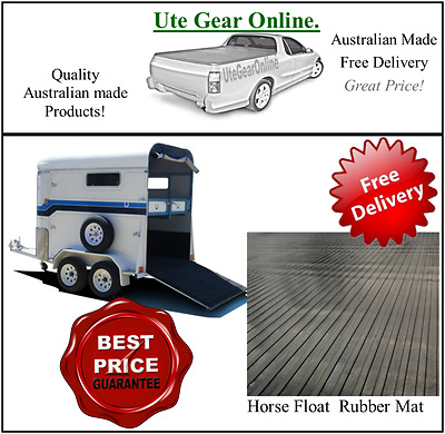 Horse float stable rubber mat anti fatigue Non Slip Mat - Matting sold per metre