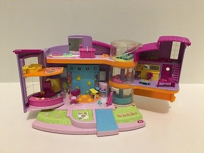 Polly Pocket Magic Movin' Ultimate Clubhouse 2000