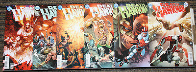 DC The Death of Hawkman # 1-6 COMPLETE SET - All 1sts #1 & 6 B Cvrs, 2-5 As