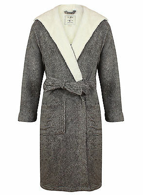 Men's Super Soft Hooded Robe, Gray Marl (sizes available)