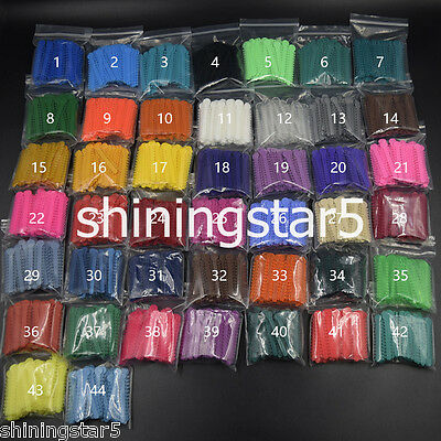 1008 Pcs Dental Orthodontics Elastic Bands Ligature Ties 44 Colors to Choose