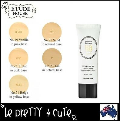 【ETUDE HOUSE】Precious Mineral Beautifying Block BB Cream MATTE SPF50+ PA+++