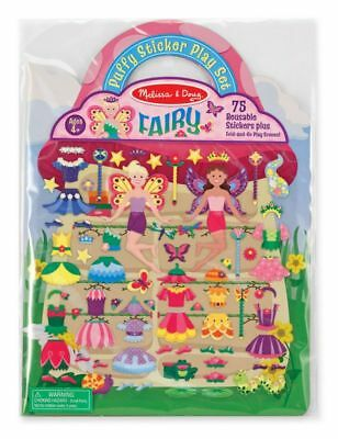Melissa and Doug Reusable Puffy Sticker Play Set Fairy