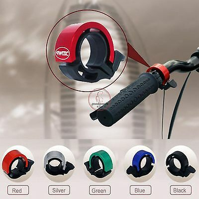 Aluminum Bicycle Bike Cycling Handlebar Bell Ring Alarm Loud Warning Safe Horn