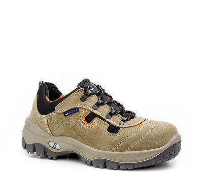 Mens Work Safety Shoes Hiking Low S3 SRC Waterproof Leather