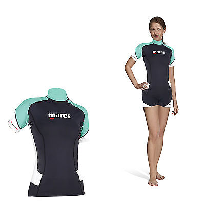 Mares Rash Guard Trilastic Short Sleeve She Dives - Damen