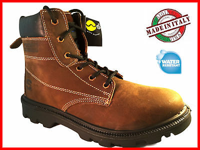 Waterproof Mens Groundwork Safety Steel Toe Cap Boots Work Trainers Hiking Shoes