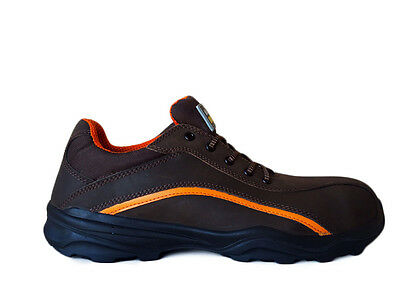 Mens Waterproof Safety Trainers Shoes BAUDOU SPRINT Metal Free NEW Brown sizes 3