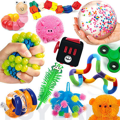 Fun Sensory Toys Stretch Fiddle Fidget Stress Autism ADHD Special Needs SEN SEND