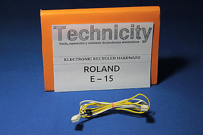 Roland E 15  - Audio Cable - Cable De Audio   - Tested