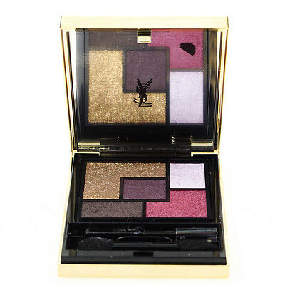 YSL Couture Palette 5 Color Gold Brown Eyeshadow Palette Metal Clash Damaged Box