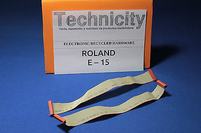 Roland E 15  - Keyboard Flex Cable - Cable Flex Teclado  - Tested