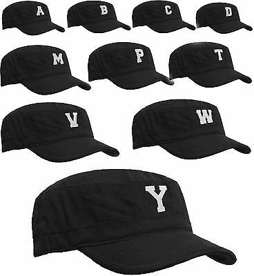 Classic Army Hat Cadet COMBAT FIELD MILITARY CAP STYLE PATROL Baseball A-Z Leter
