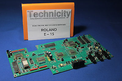 Roland E 15  - Motherboard /mainboard - Placa Madre  - Tested