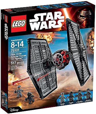 LEGO 75101 Star Wars First Order Special Forces TIE Fighter - Brand New Sealed