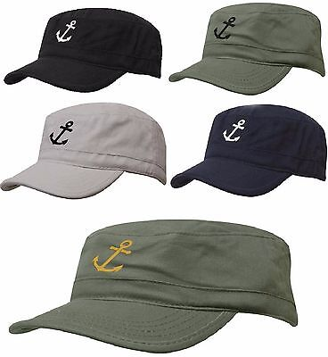 Military Boating Hat ANCHOR Baseball Classic Army Cap PATROL Sailing Skipper
