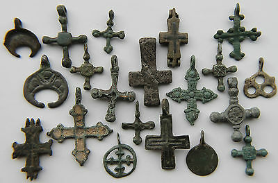 Collection of VIKING, Medieval Period Scandinavian Norse Amulet-Pendants 900 AD