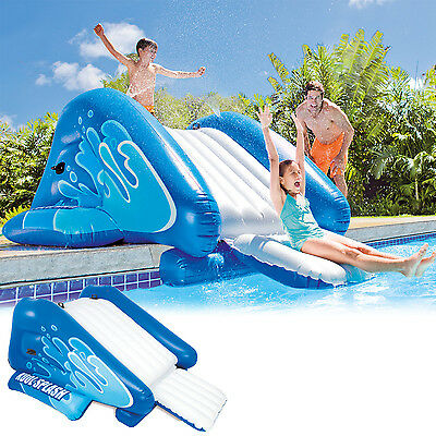 Scivolo gonfiabile galleggiante Intex 58849 piscina piscine water slide - Rotex