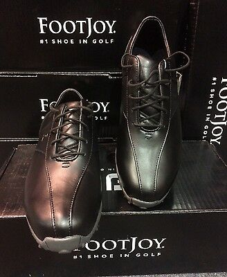 FootJoy Ladies Black Golf Shoes LoPro Spiked size EU 39 UK 6