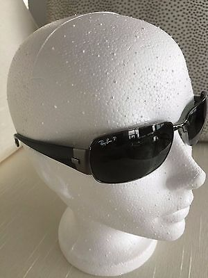 b012a44474 RARE RAY-BAN RB 3332- wrap Black Polarized Brand New. Ship to US and ...